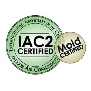 IAC2 Mold Certified Badge